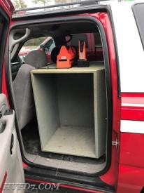 Command Unit Gear/SCBA Storage