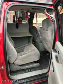 Command Unit Rear Passenger Seat