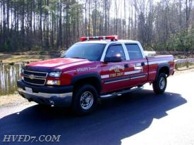 2003 Chevy Silverado 4x4 Utility Vehicle