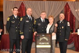 Firefighter of the Year award presented to Boots Garner