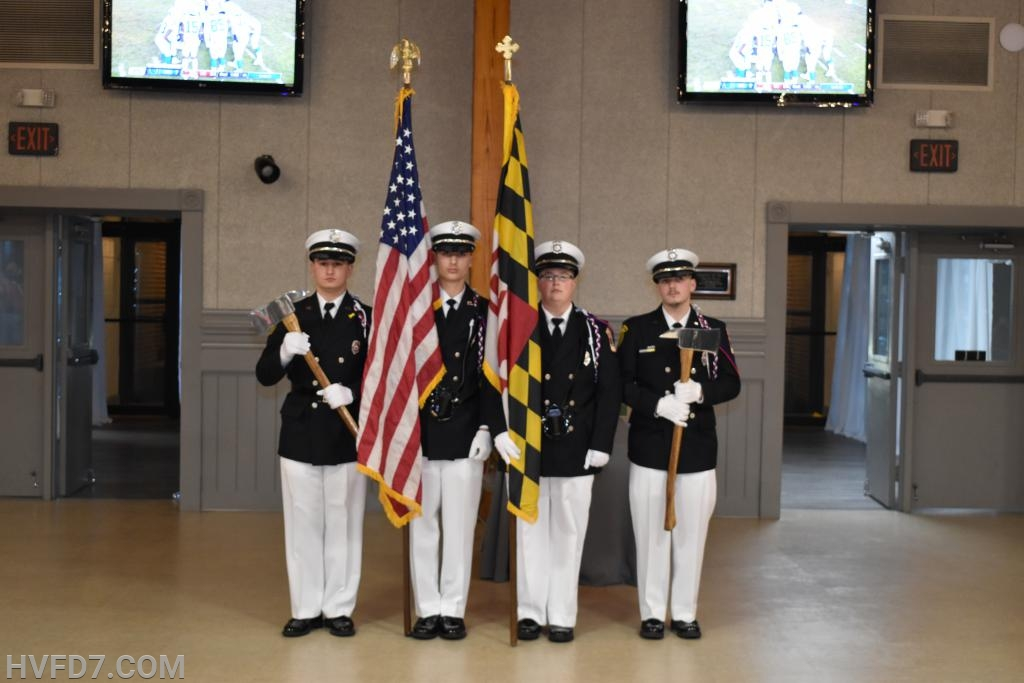 The Departments Honor Guard