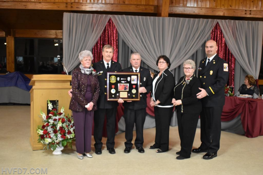 Memorial presentation to the family of Repete Mattingly