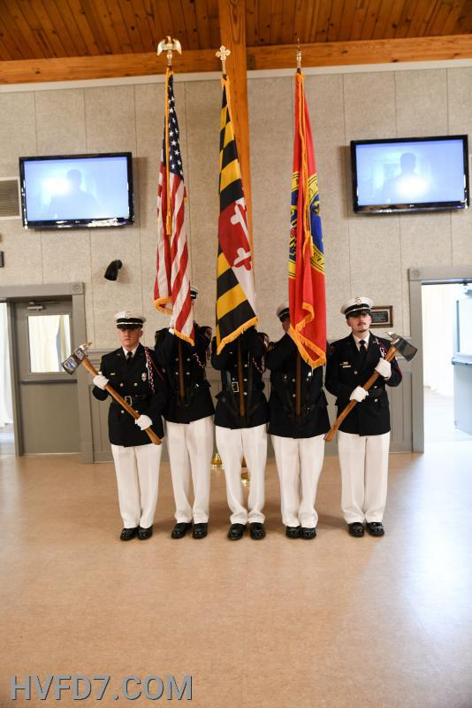 HVFD 2020 Honor Guard with Presentation of Colors
