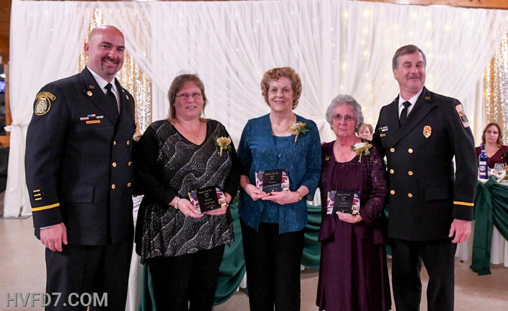 Congratulations to HVFDLA Member Carolyn Hayden, HVFDLA Treasurer Frannie Thompson and HVFDLA Past President Leon Gatton for receiving the HVFDLA Member of The Year Award.