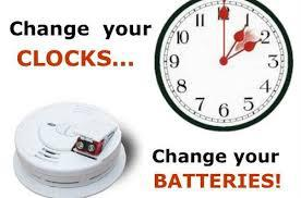 CHANGE YOUR CLOCKS AT 0200 HOURS ON SUNDAY 8 MARCH 2020!