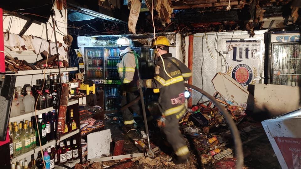 Crews overhauling