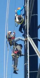 Rescue Squad responds to High Angle Rescue